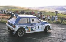 MG Metro 6R4 Manx rally 1986 Tony Pond